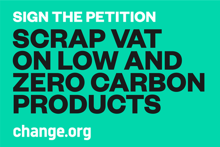 Scrap VAT on low and zero carbon products