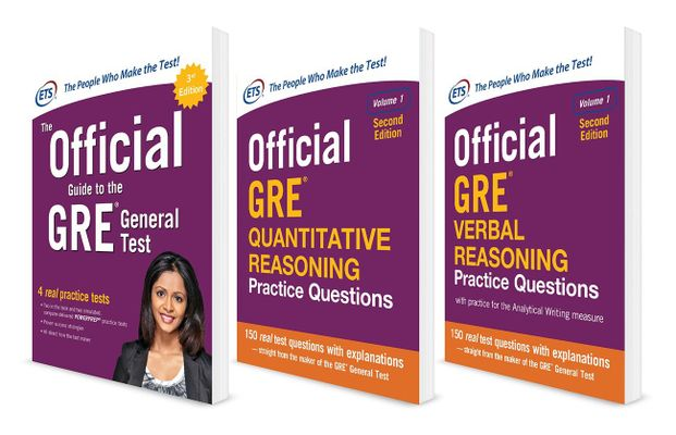 ETS Official GRE Super Power Pack