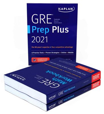 Kaplan's GRE Complete 2021 book bundle