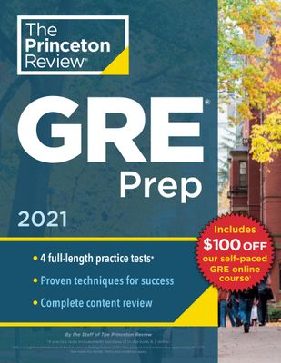 Princeton Review GRE Prep 2021