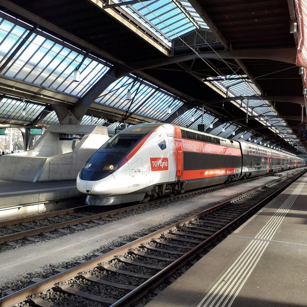 Das macht den neuen TGV très chic!