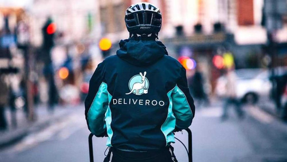 Picture of Deliveroo rider