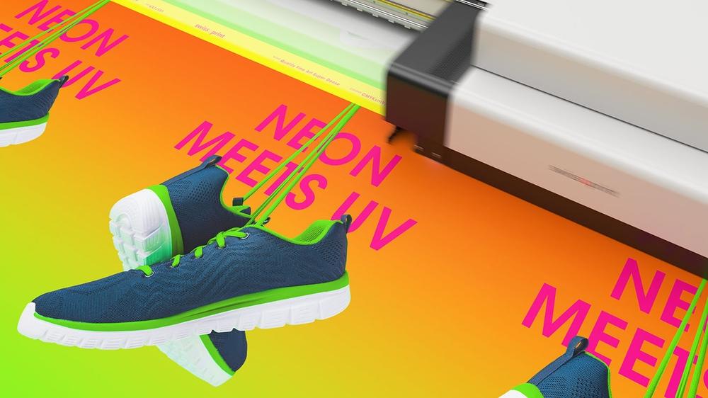 Neon 4 colour variants © swissQprint