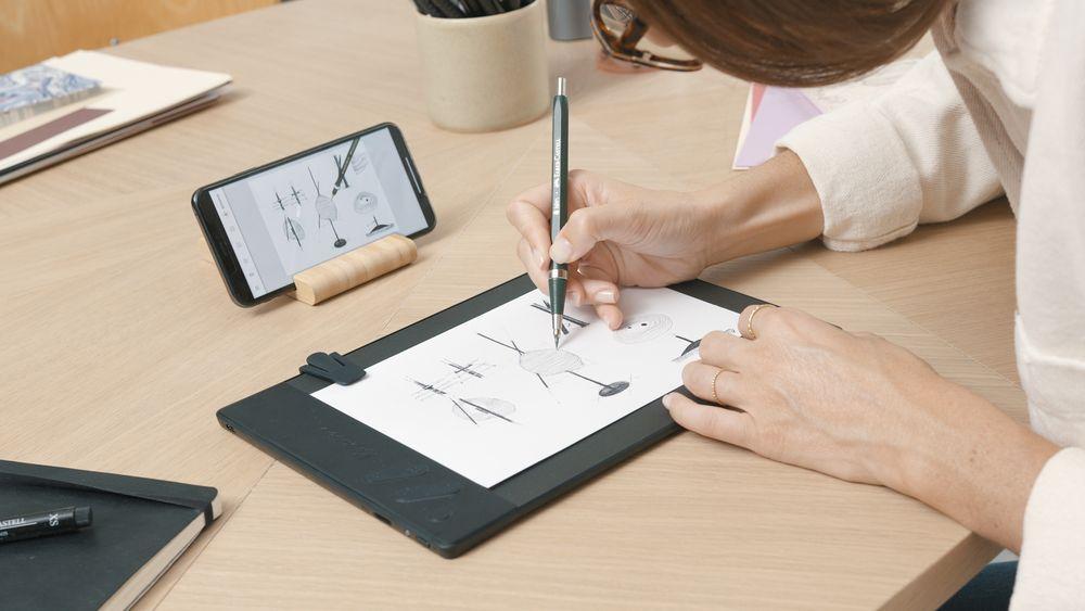Repaper Drawing tablet, the original pen & paper drawing pad | iskn
