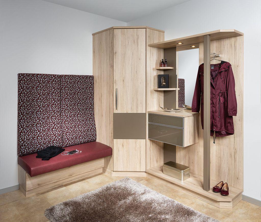 Ecklösung für Vorzimmer
