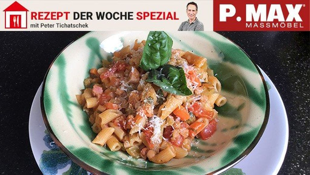 Herrliche Pasta e fagioli.