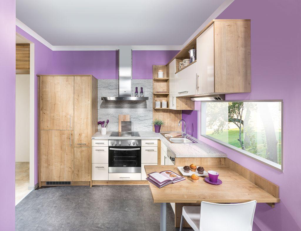 Eckküche mit Sitzplatz