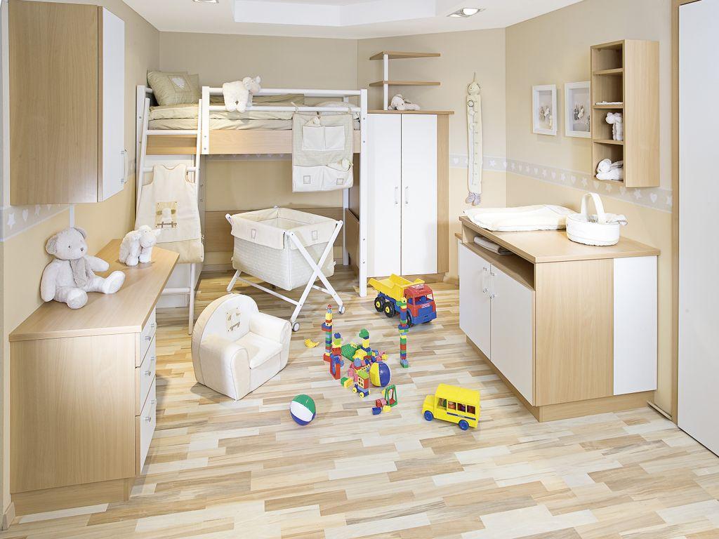 Kinderzimmer mit Wickeltisch