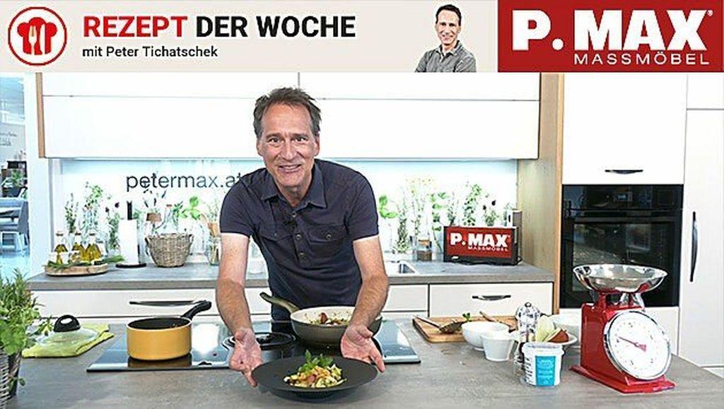 Knackiger Salat mit Linsen.