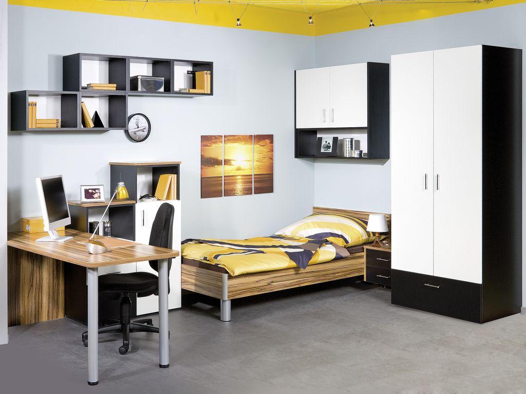Jugendzimmer mit Bettüberbau