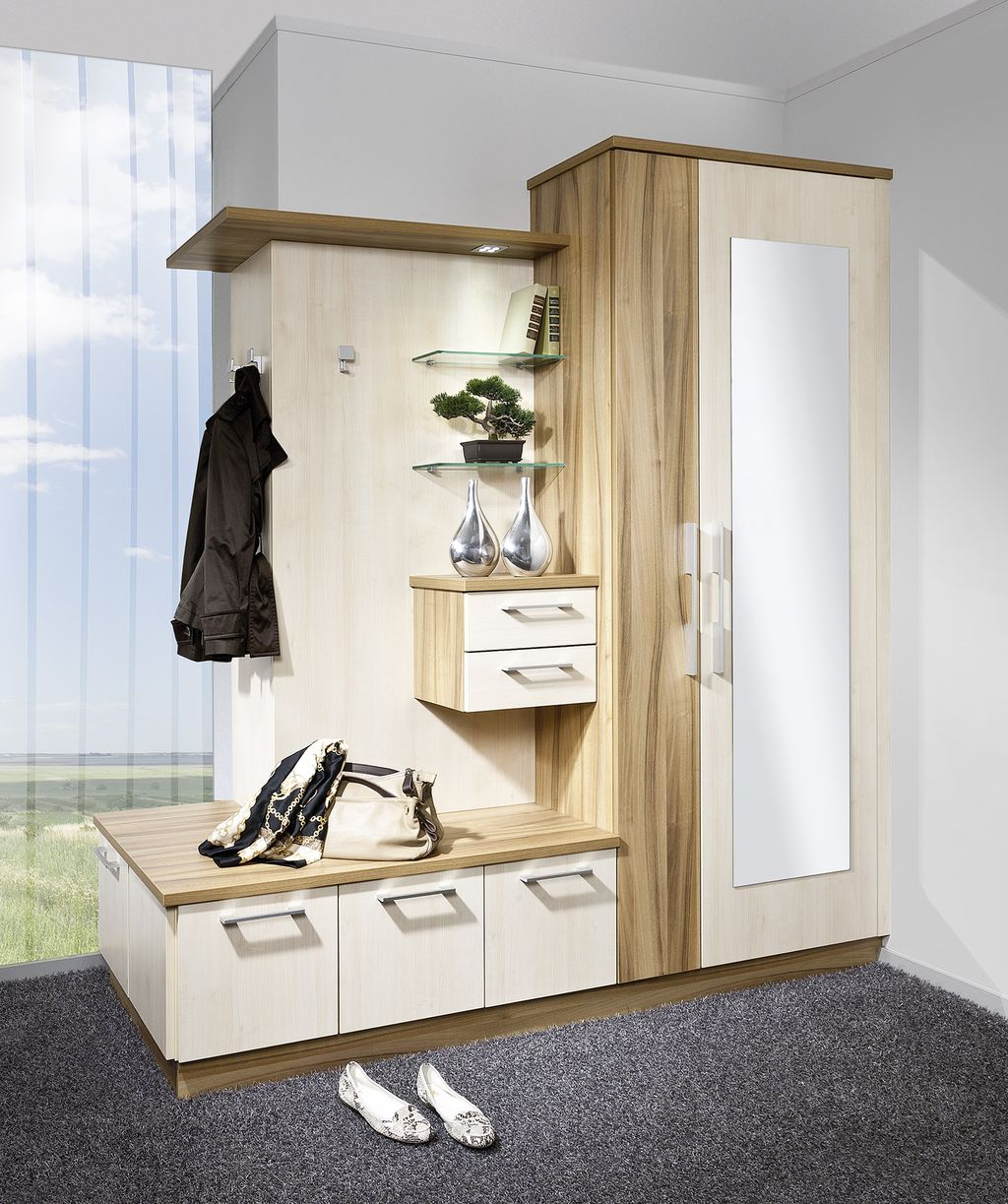 Vorzimmer Garderobe-Eckpaneel