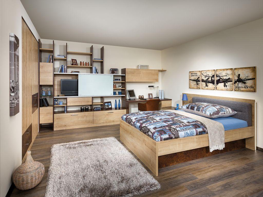 Jugendzimmer mit Einbauschrank