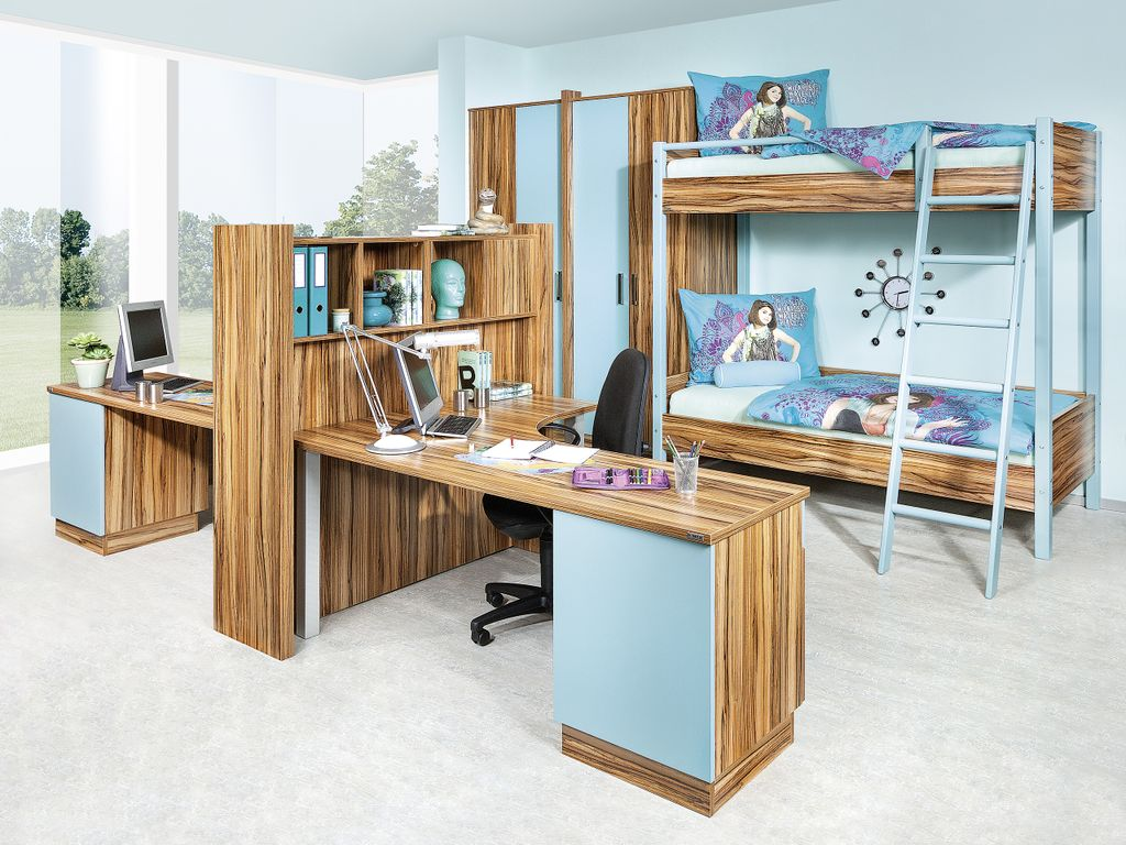 Jugendzimmer mit Stockbett