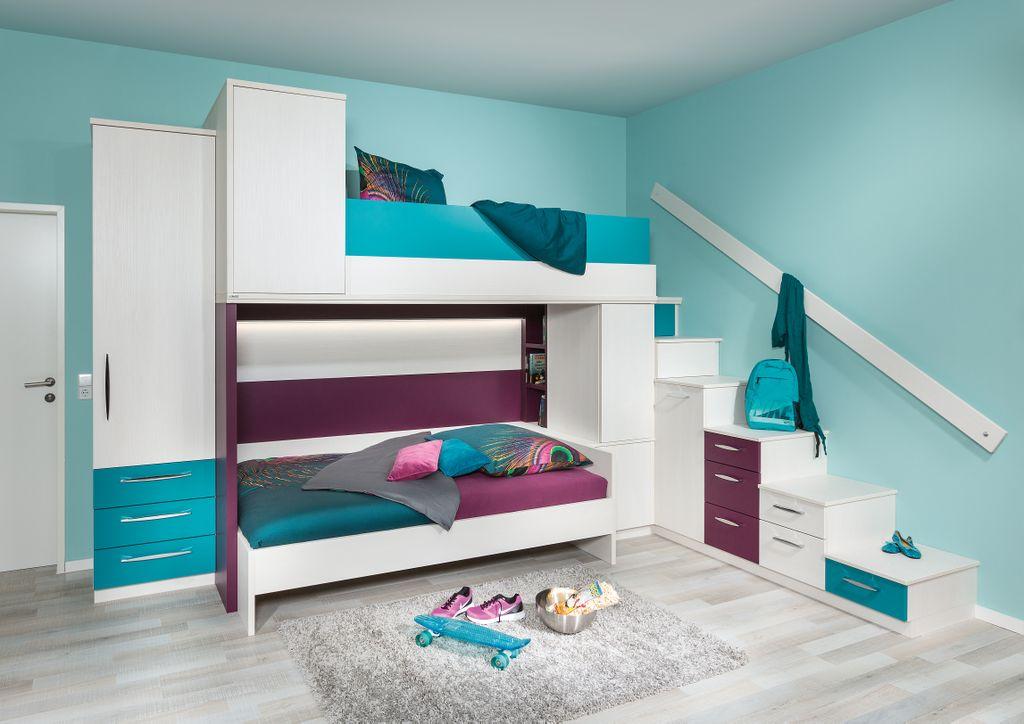Jugendzimmer mit Hochbett