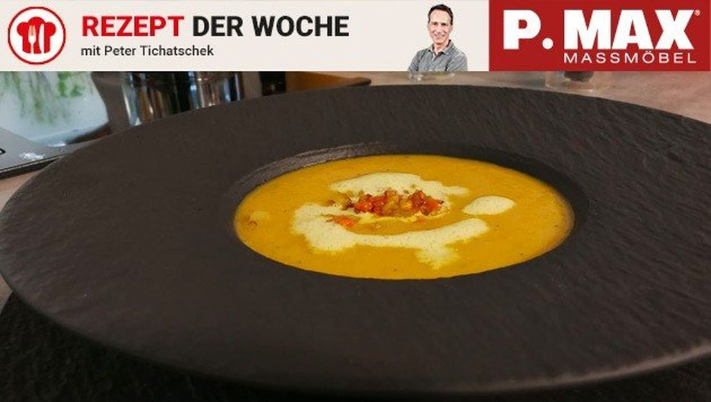 Apfel-Karotten-Curry-Suppe