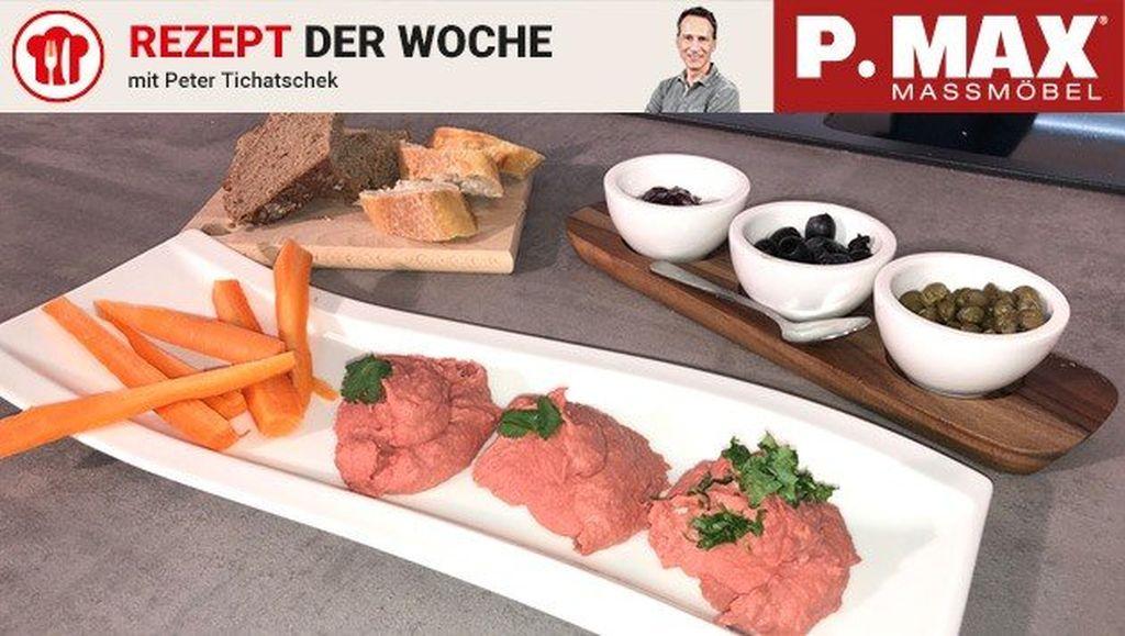 Roter-Rüben-Hummus-Aufstrich