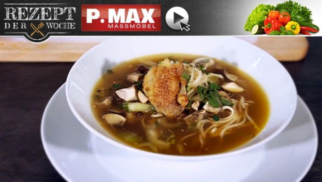 Rezept der Woche: Asiatische Hühnersuppe