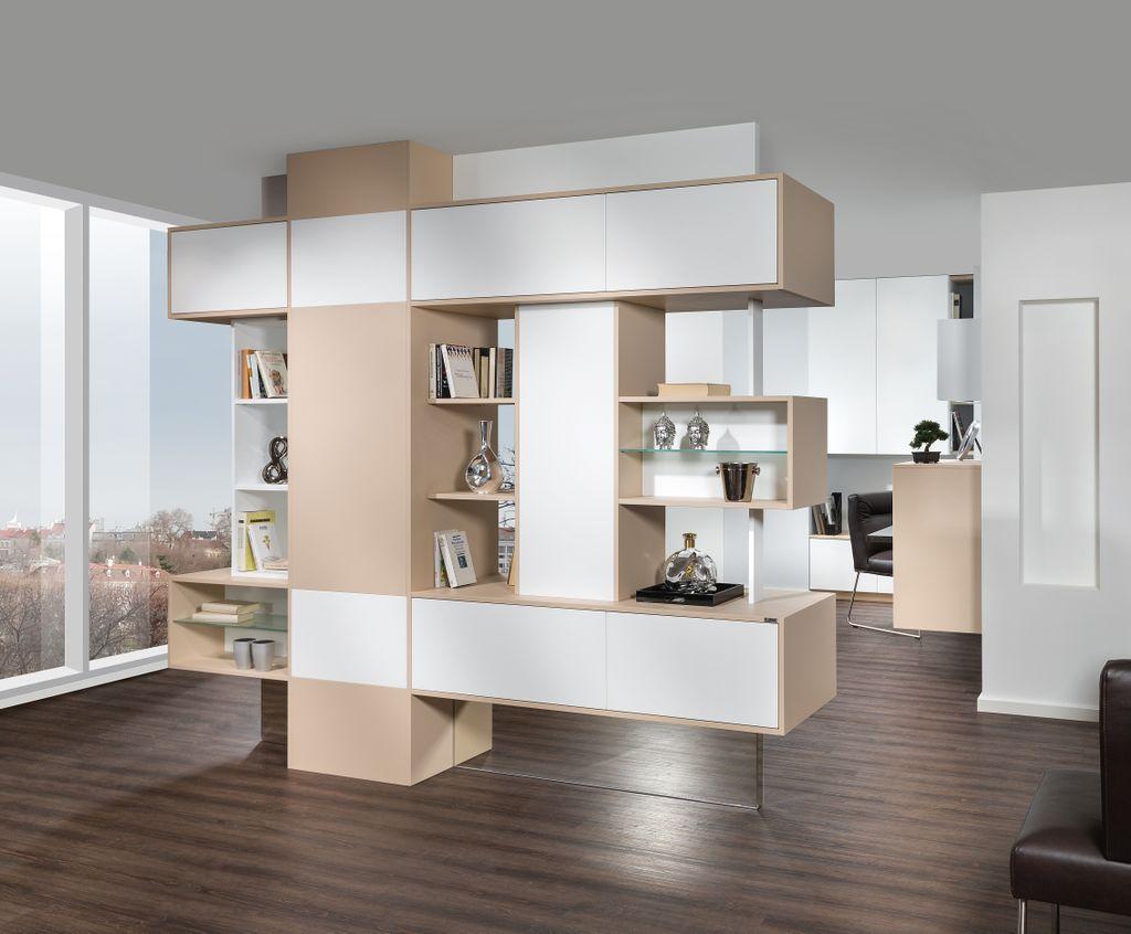Raumteiler Wohnwand