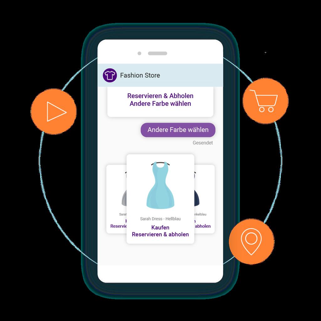 LINK Mobility - Rich Communication Services (RCS) lässt sich für die multimediale, interaktive Kundenkommunikation via Smartphone optimal nutzen