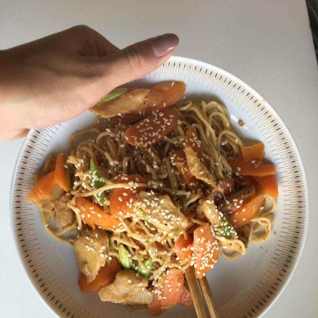 færdiglavet wok