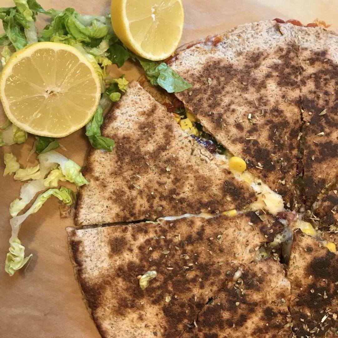Sprøde og lækre vegetariske quesadilas