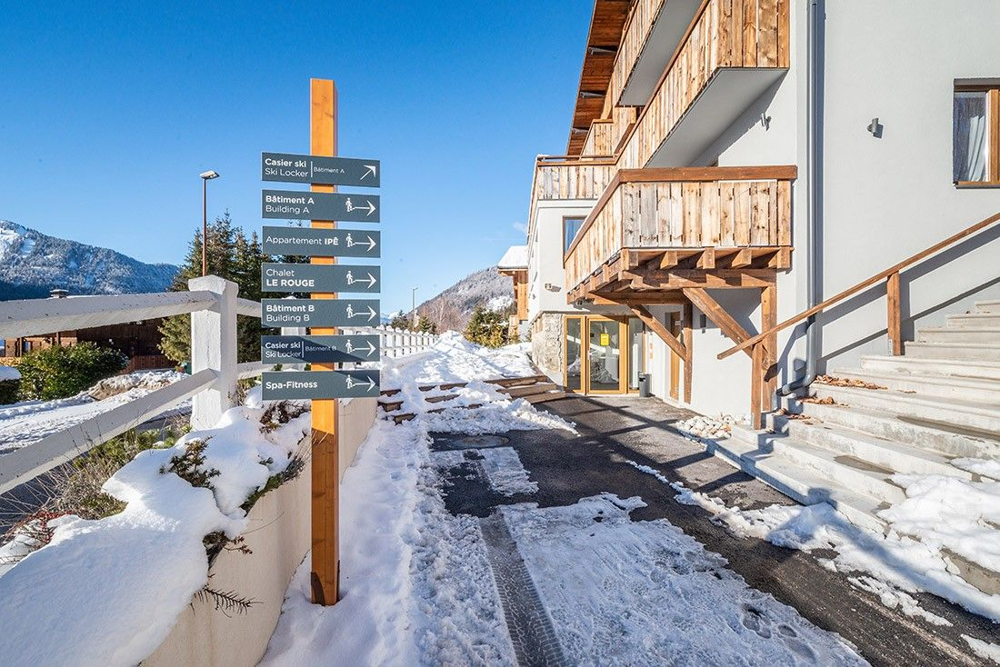 Accommodation directions in Morzine