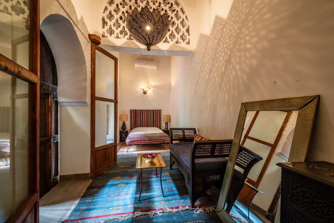 Double bedroom 2 of Adilah riad in Marrakech