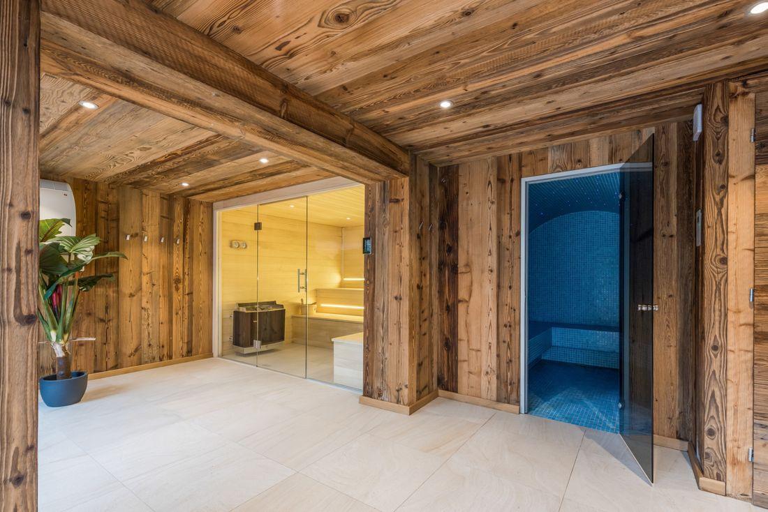 Wellness area of Lovoa accommodation in Morzine