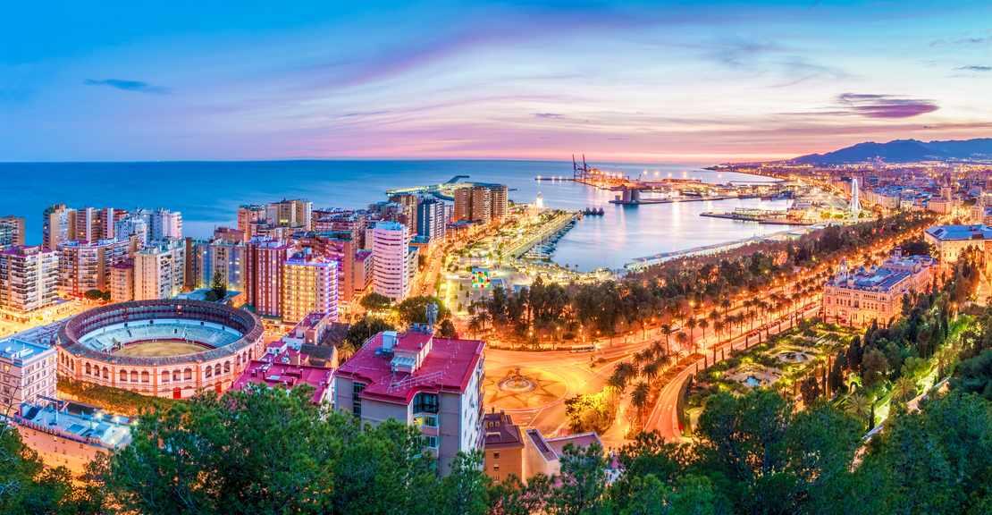 Malaga in Costa del Sol