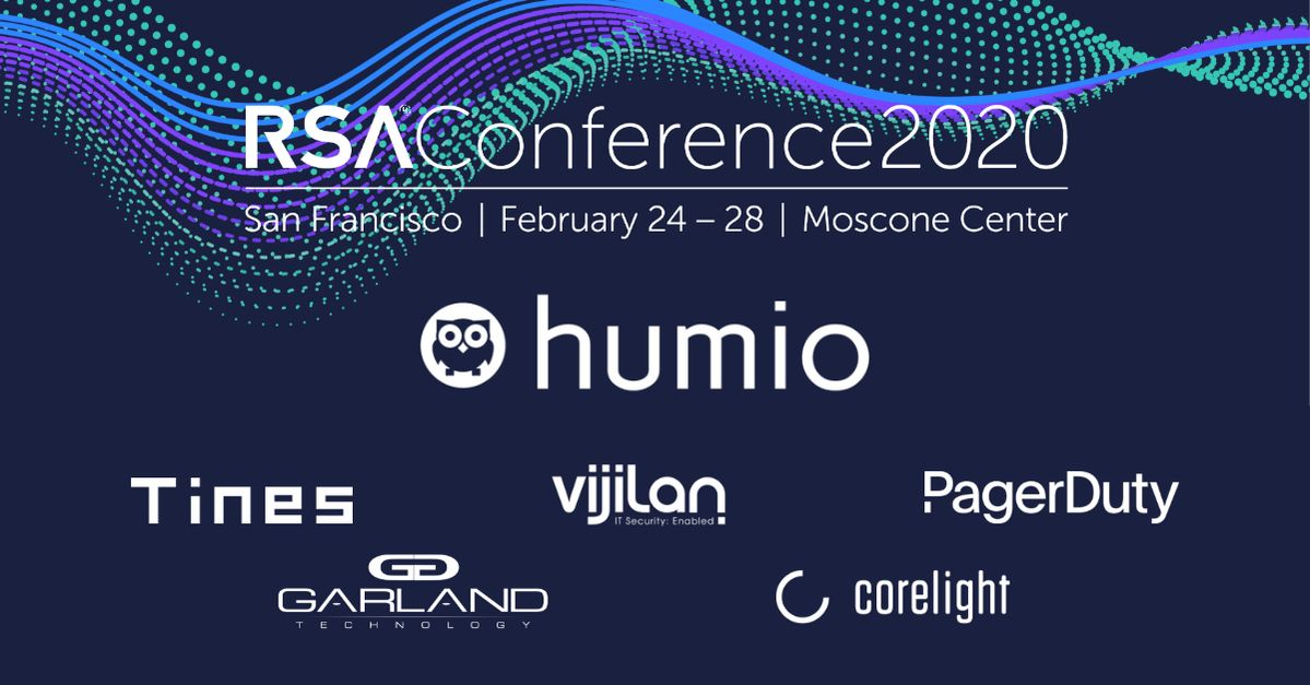 Humio at RSA 2020