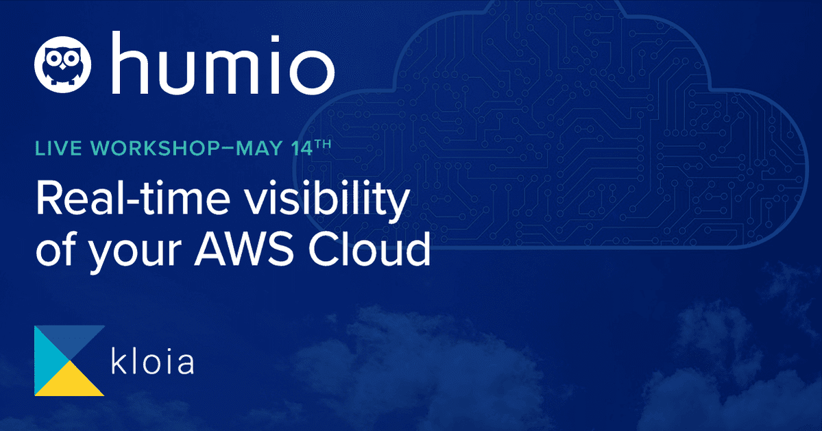 Set up Humio in AWS for real-time visibility