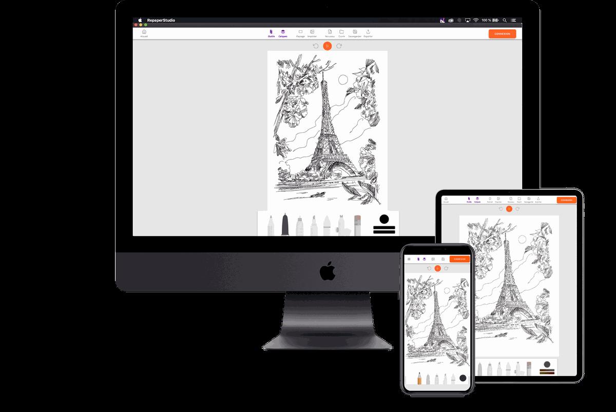 Repaper Studio App - iskn
