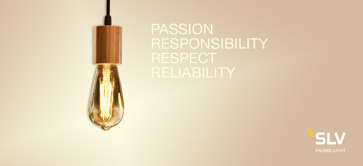 Passion, responsibility, respect and reliability