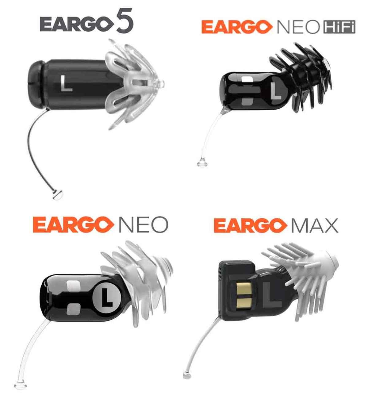 Eargo Lineup
