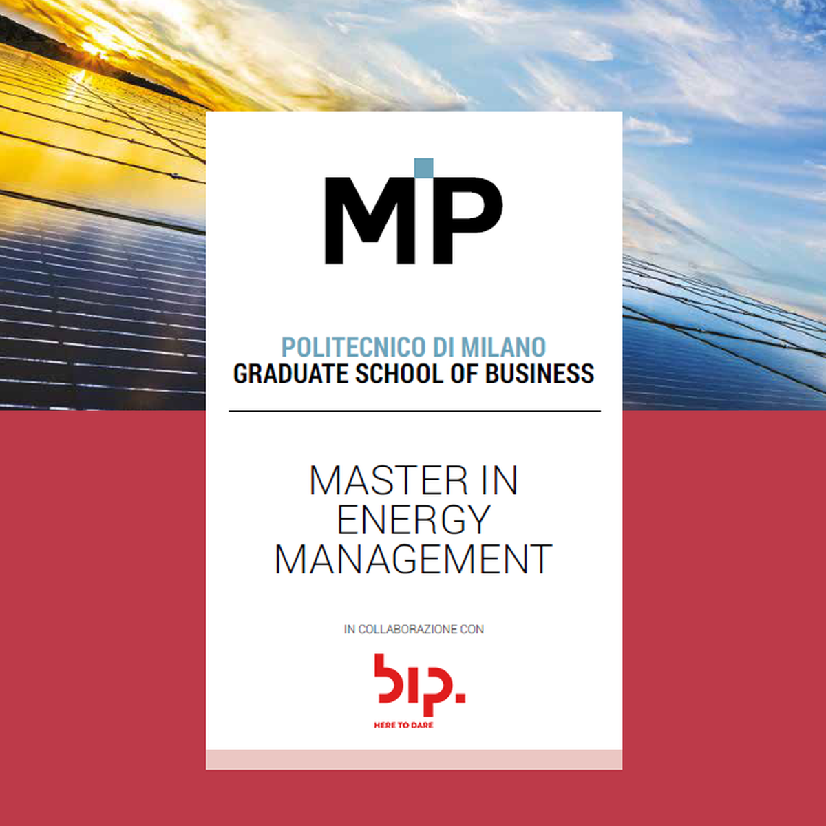 Master in Energy Management