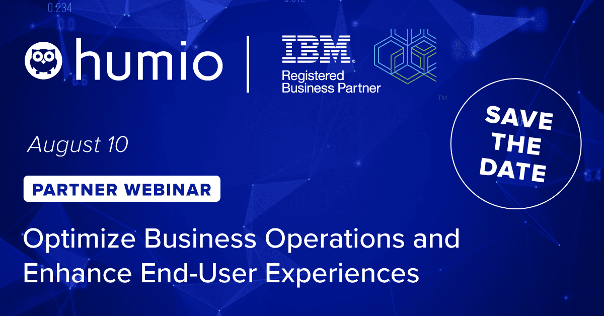 Humio and IBM create real-time observability in IBM Cloud environments