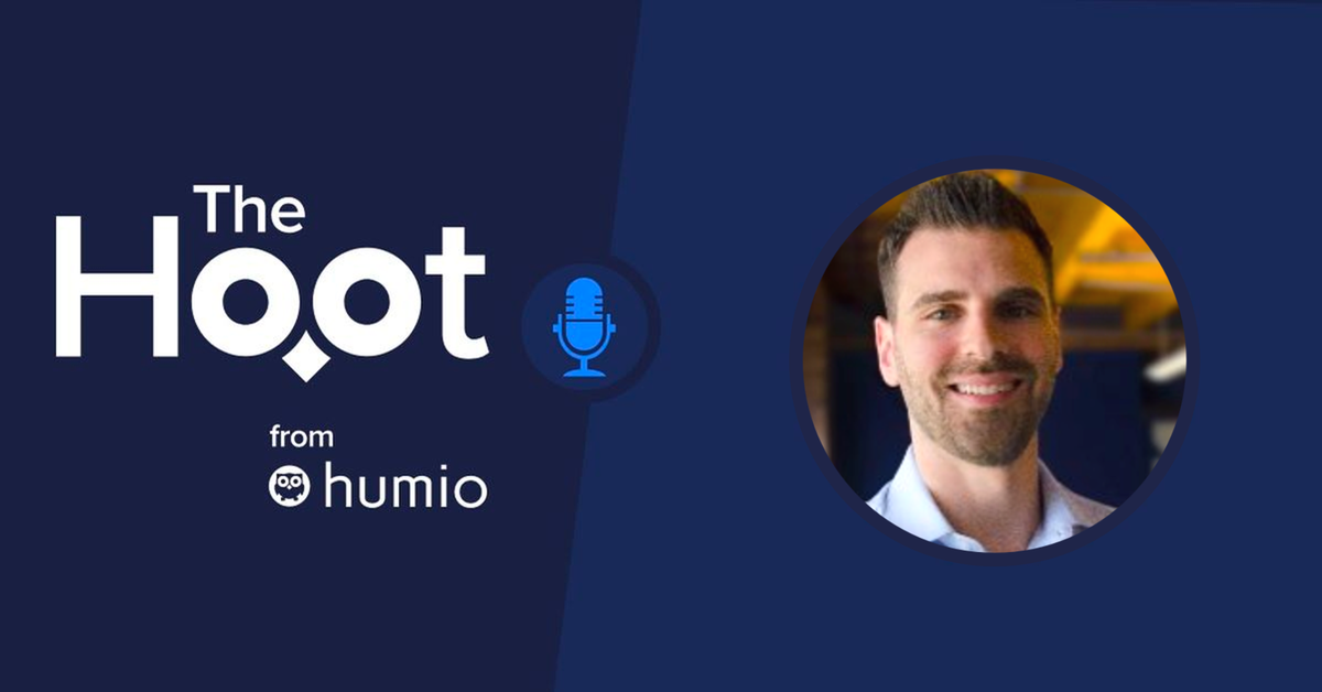 The Hoot -  Episode 31 - Humio at M1 Finance with Steven Gall