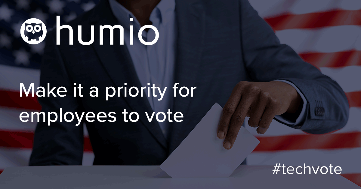 Make it a priority for employees to vote