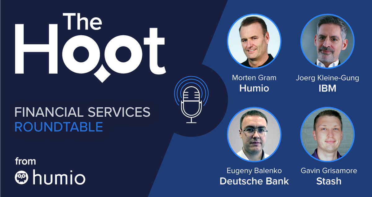 The Hoot -  Episode 33 - Financial Services Roundtable