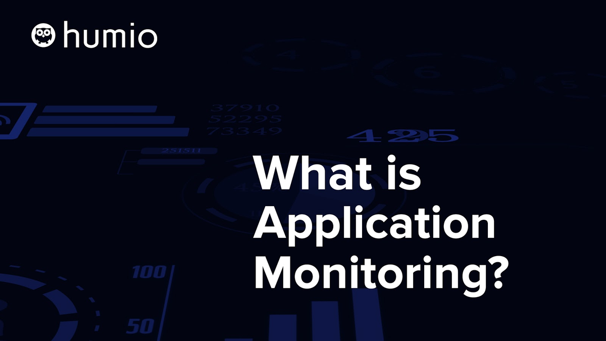 What is Application Monitoring?