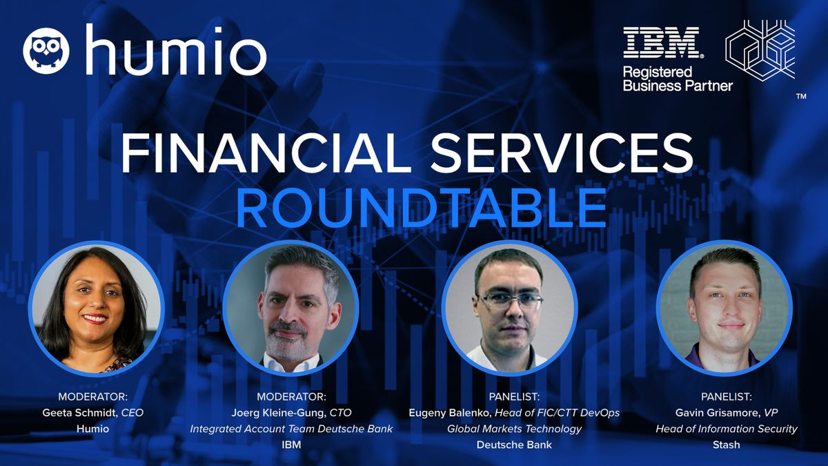 Join us for a Financial Services Roundtable