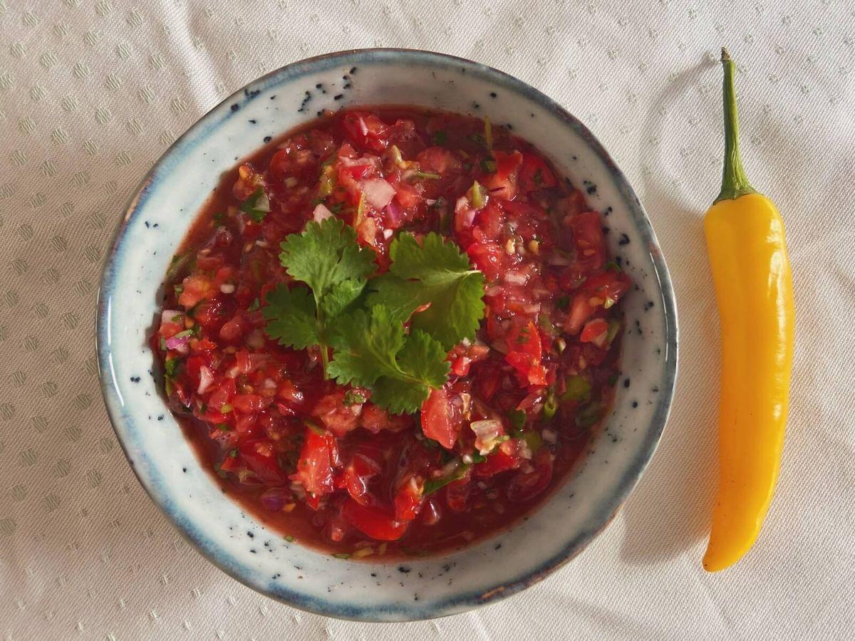 Hjemmelavet salsa