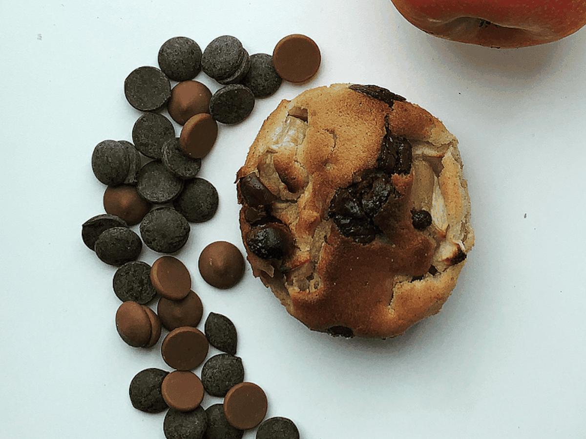 æblekage muffins