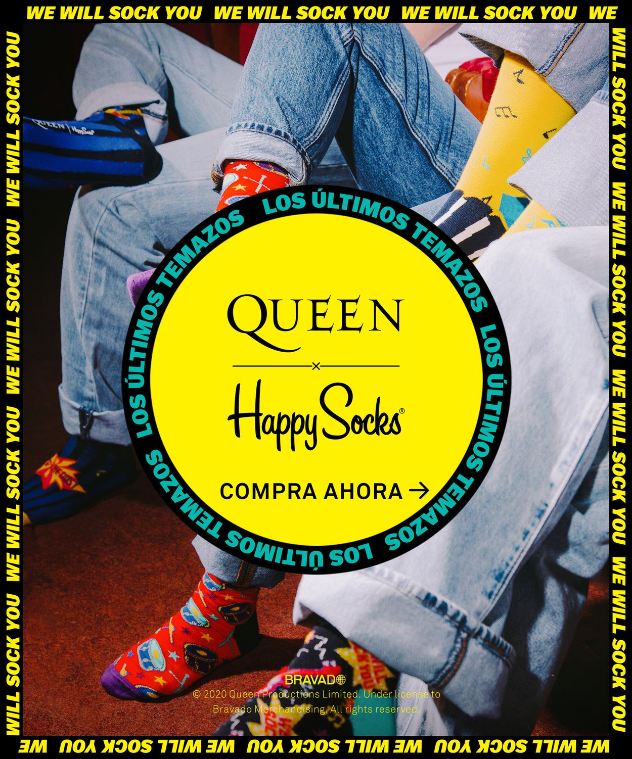 Queen x Happy Socks