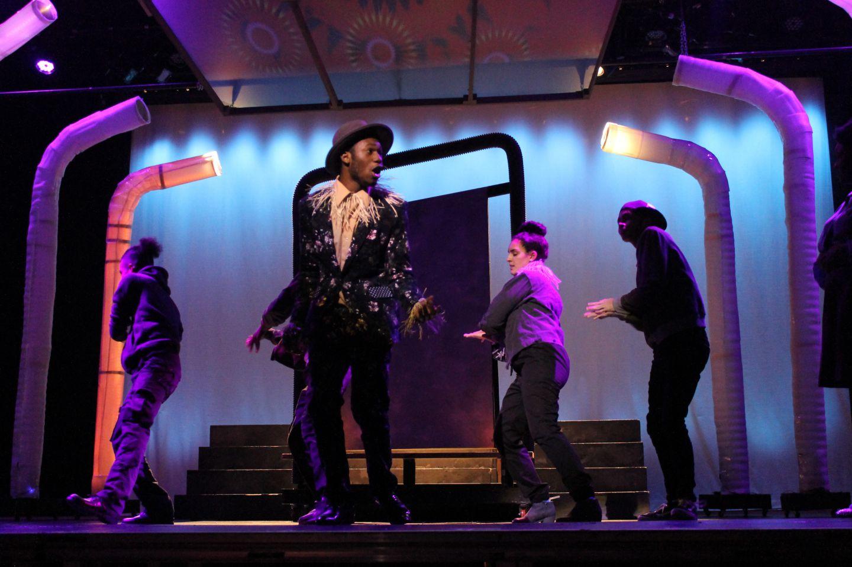 BAA performing a play.
