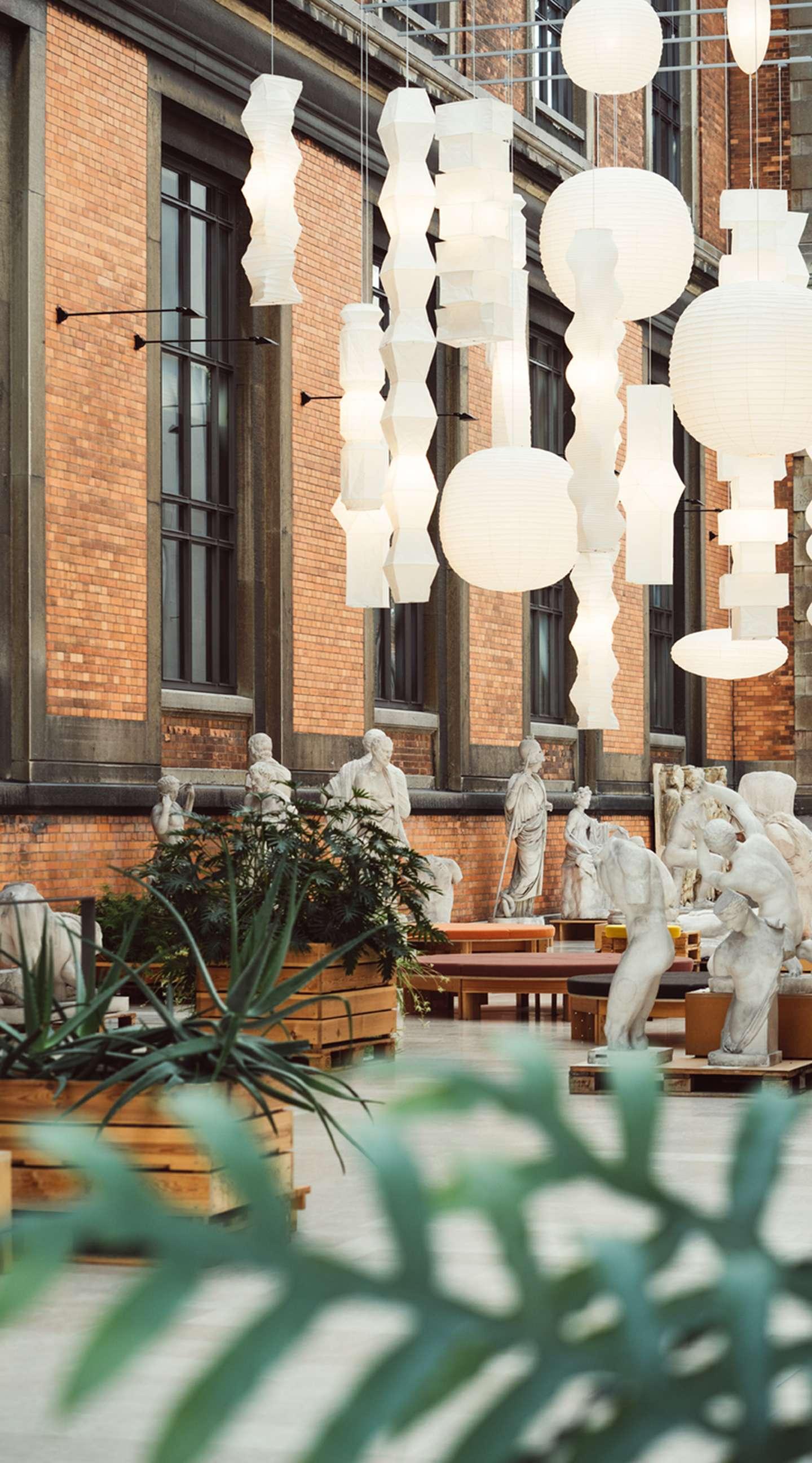 Skulpturgaden på SMK