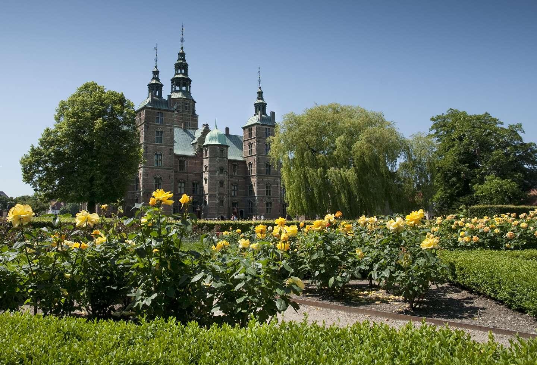 Kongens Have og Rosenborg.