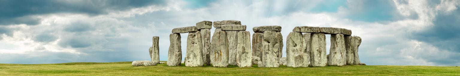 Stonehenge in Wiltshire, England, UK