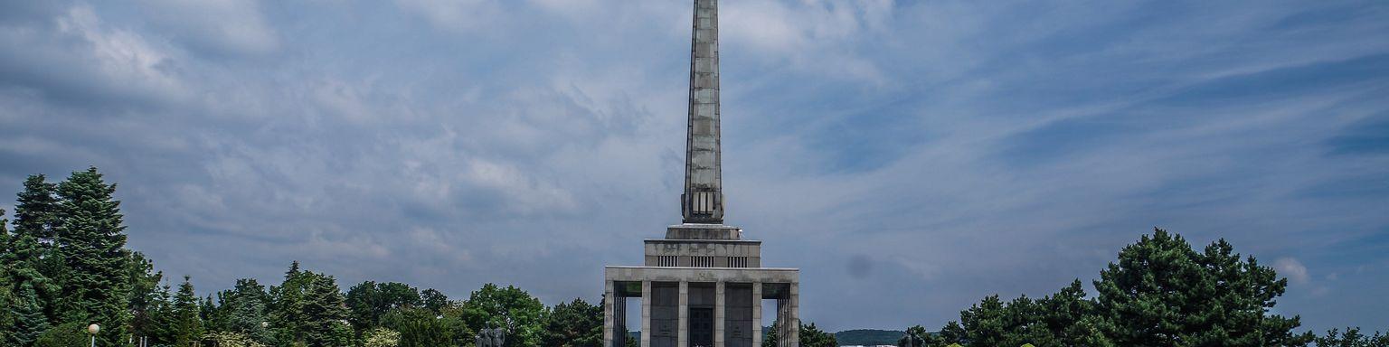 The Slavin monument in Bratislava