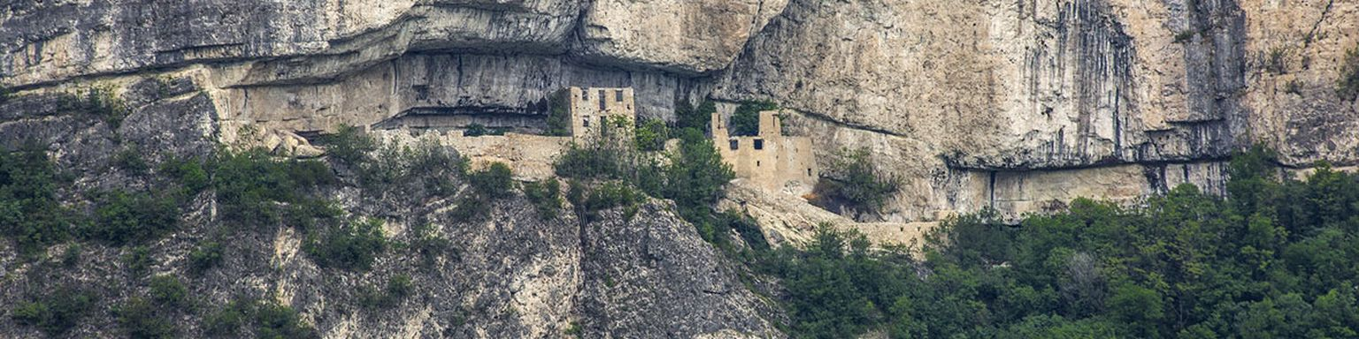 Castel San Gottardo in Mezzocorona, Italy
